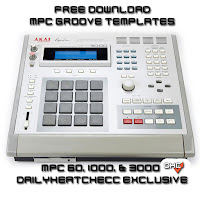 MPC, Groove, Templates, Free, Download, MPC, 60,1000, & 3000, #DailyHeatChecc