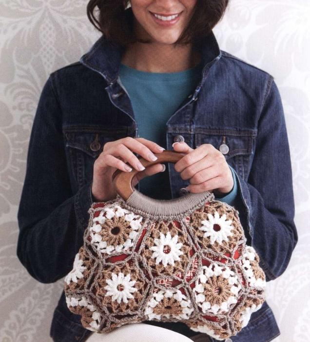 2 Preciosas Bolsas de Crochet