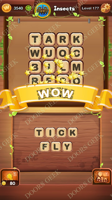 Word Bright Level 177 Answers, Cheats, Solutions, Walkthrough for android, iphone, ipad and ipod