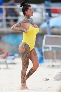 Jemma-Lucy-was-pictured-in-a-yellow-swimsuit-at-a-beach-in-Sydney.-56vgkqa2ao.jpg