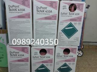 Bán bình gas lạnh điều hòa R410 A DuPont Suva Mỹ tại Hà Nội