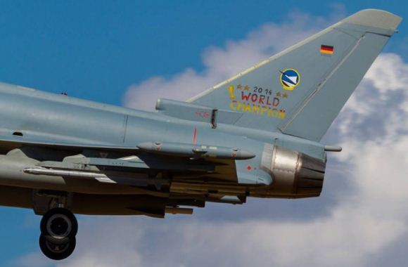 Eurofighter Typhoon Jerman di cat Piala Dunia