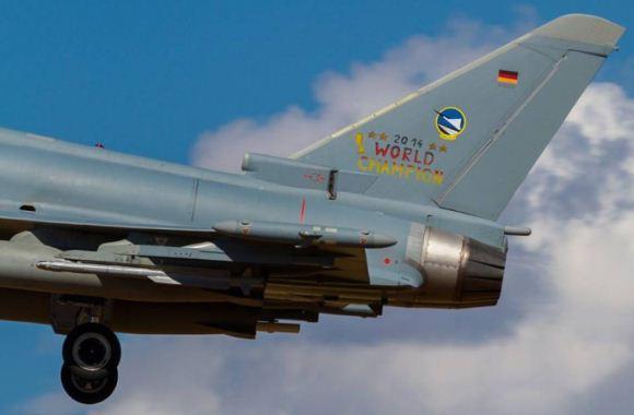 Eurofighter Typhoon Jerman di cat Piala Dunia