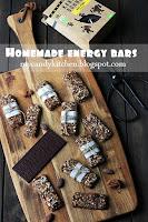 Енергийни барчета с какао и шоколад