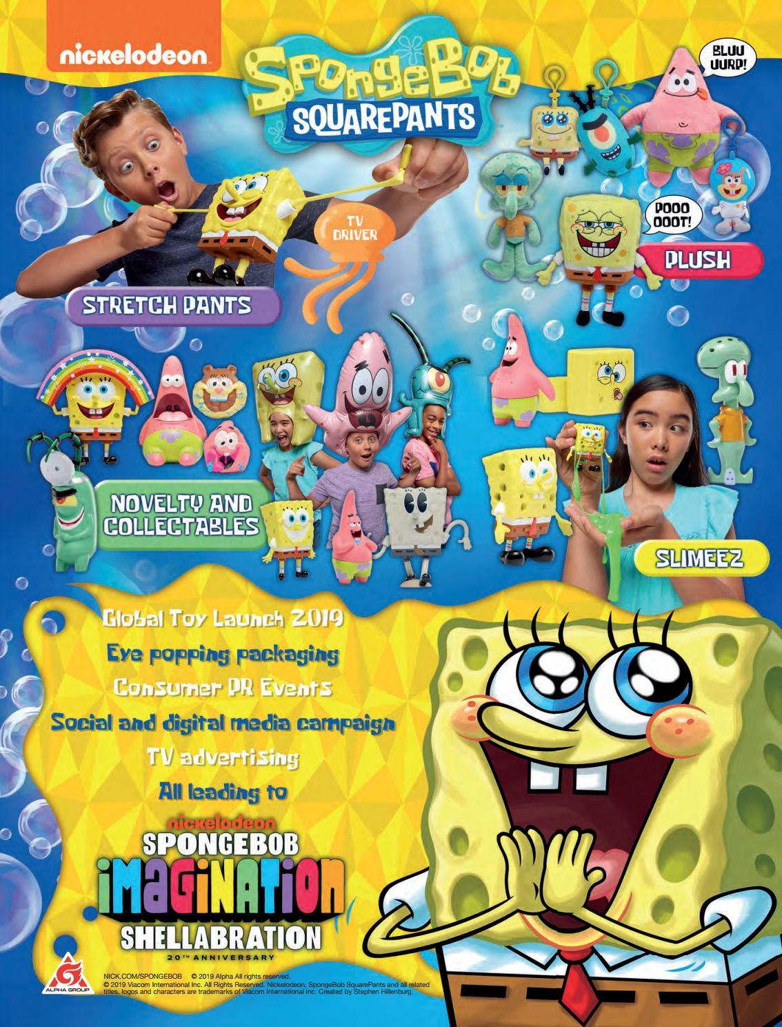 NickALive!: Nickelodeon Outlines SpongeBob SquarePants' 20th