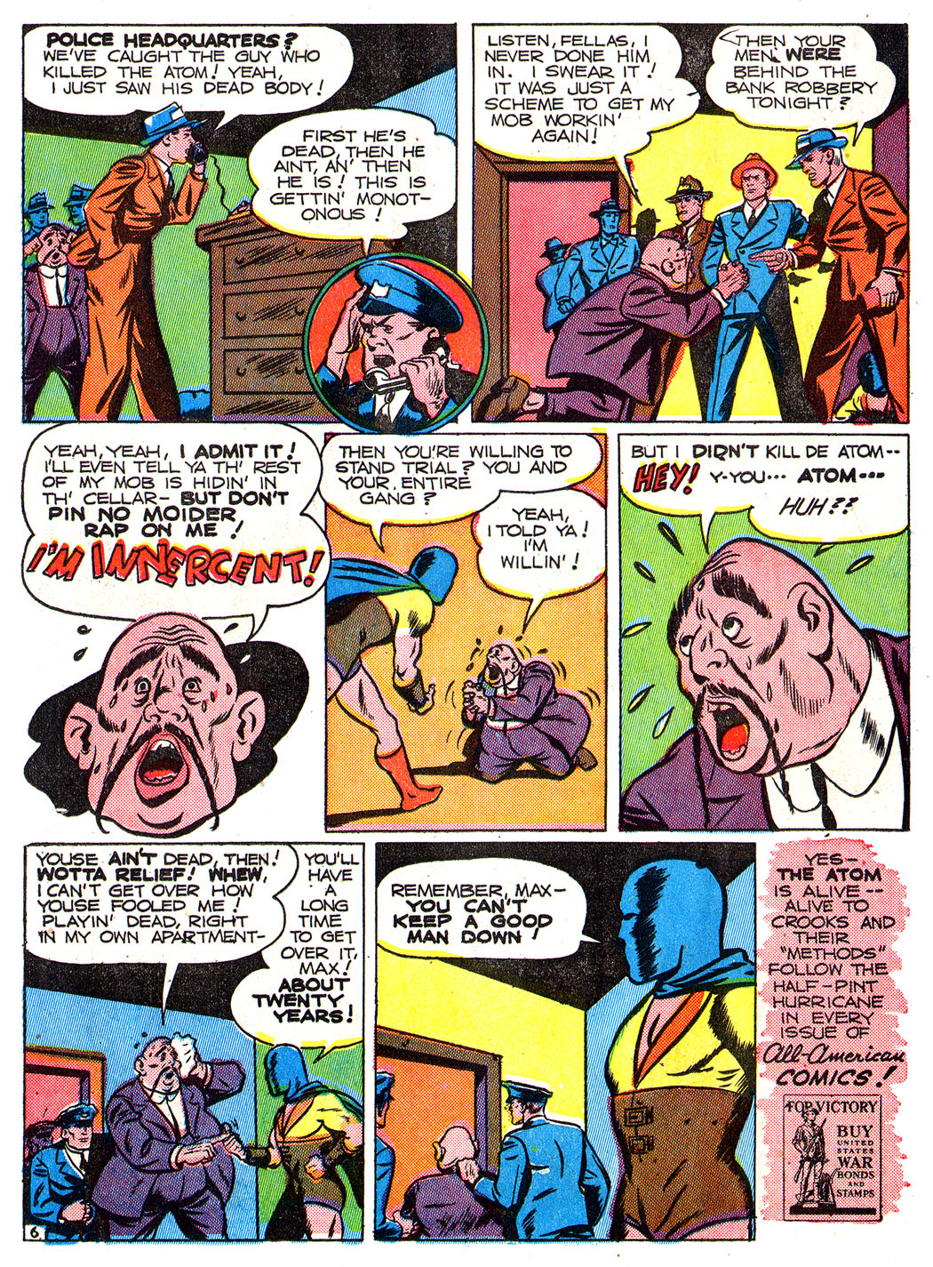 Read online All-American Comics (1939) comic -  Issue #50 - 24