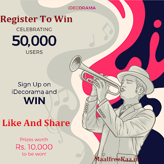 Sing up and Login To Win Prize Worth Rs 10000