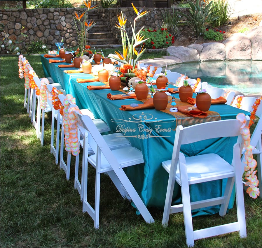 Despina Craig Events Hawaiian Beach Theme