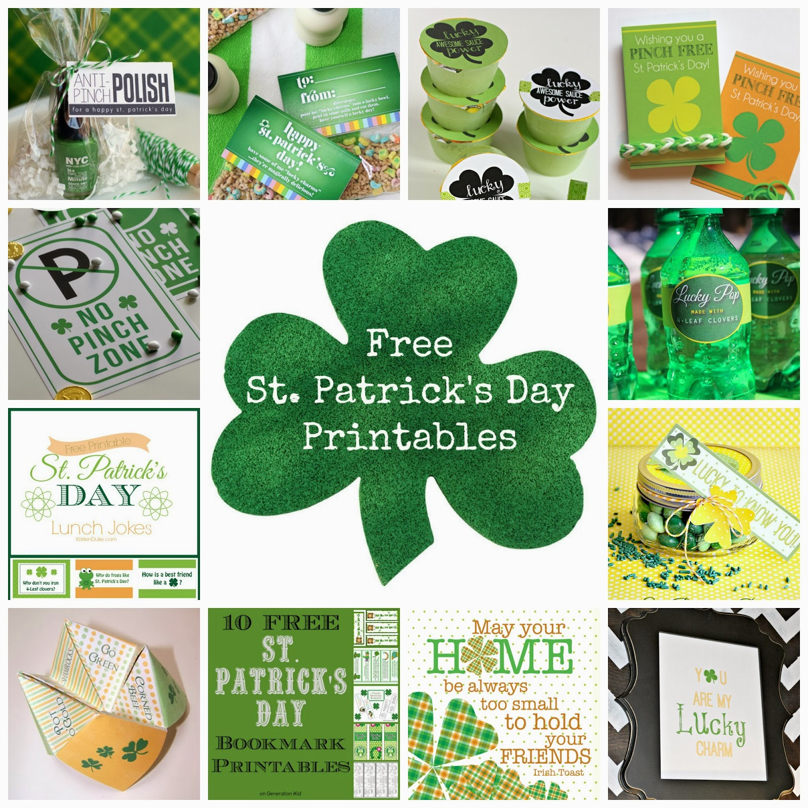 Some Of The Best Things In Life Are Mistakes Free St Patrick S Day Printables