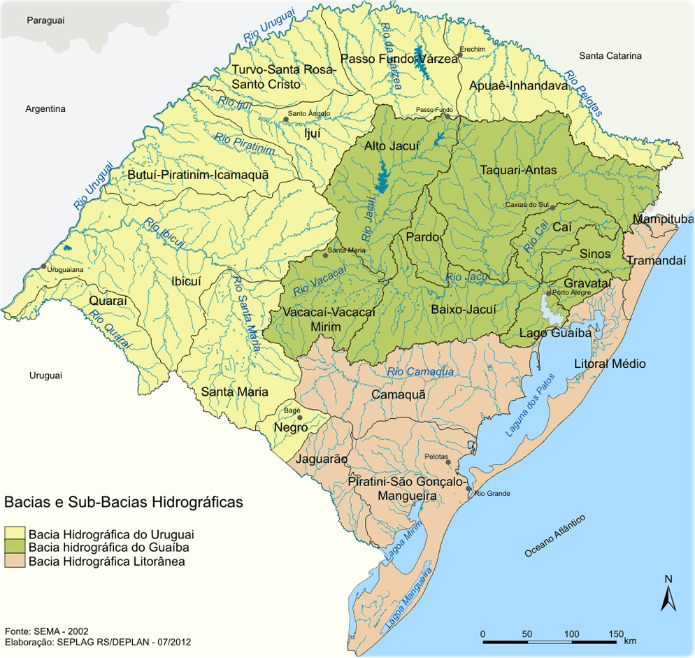 Mapas do Rio Grande do Sul