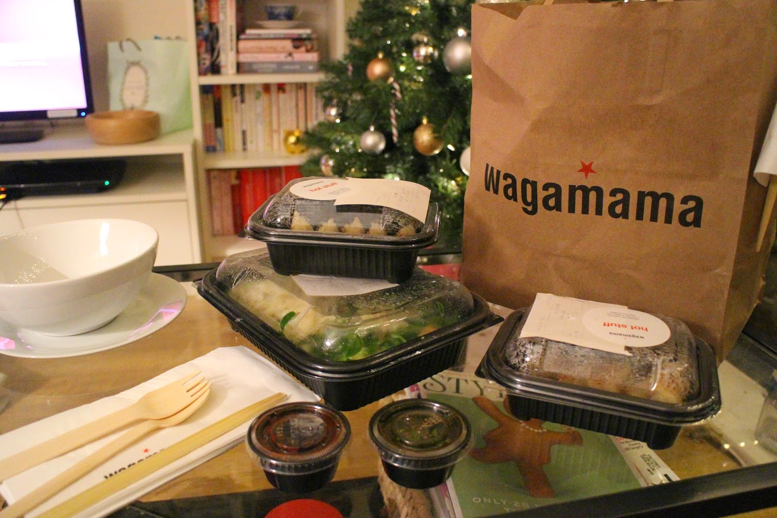 Weekend Takeout With Wagamama's