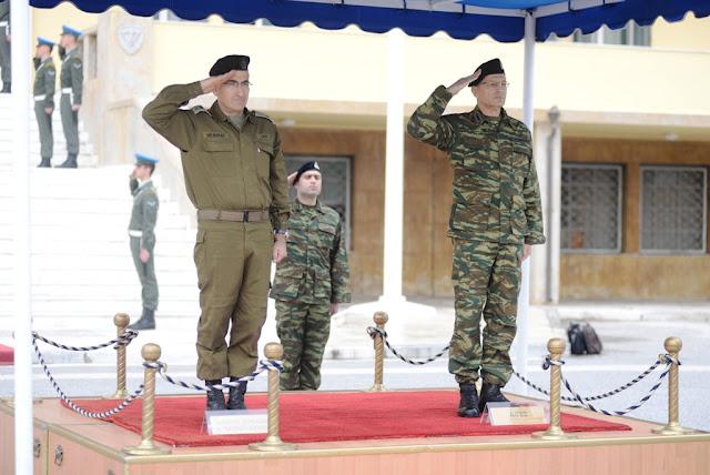 Αρχηγός ΓΕΣ: Τι συζήτησε με τον Αρχηγό Χερσαίων Δυνάμεων του Ισραήλ - ΦΩΤΟ