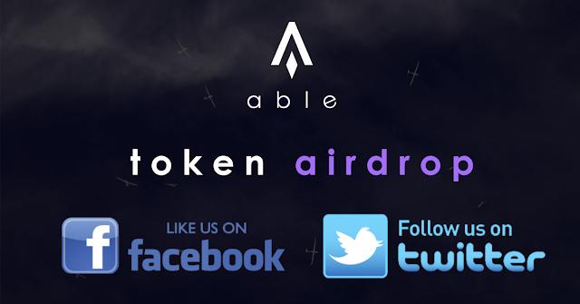 Nhận 450 token ABLE khi miễn phí