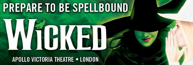 Wicked musical, London