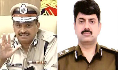 In Faridabad, the criminals killed the new police commissioner Amitabh Dhillon, raped, raped, welcomed, DGP came in tension