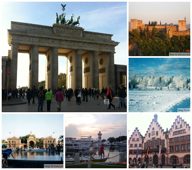intercâmbio em Berlim, Frankfurt, Granada, Suécia, Dinamarca e Hilton Head Island