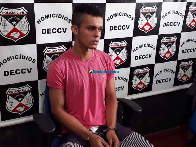 Preso em Guajará-Mirim assassino de caseiro que foi encontrado com enxadeco cravado na cabeça, em Porto Velho