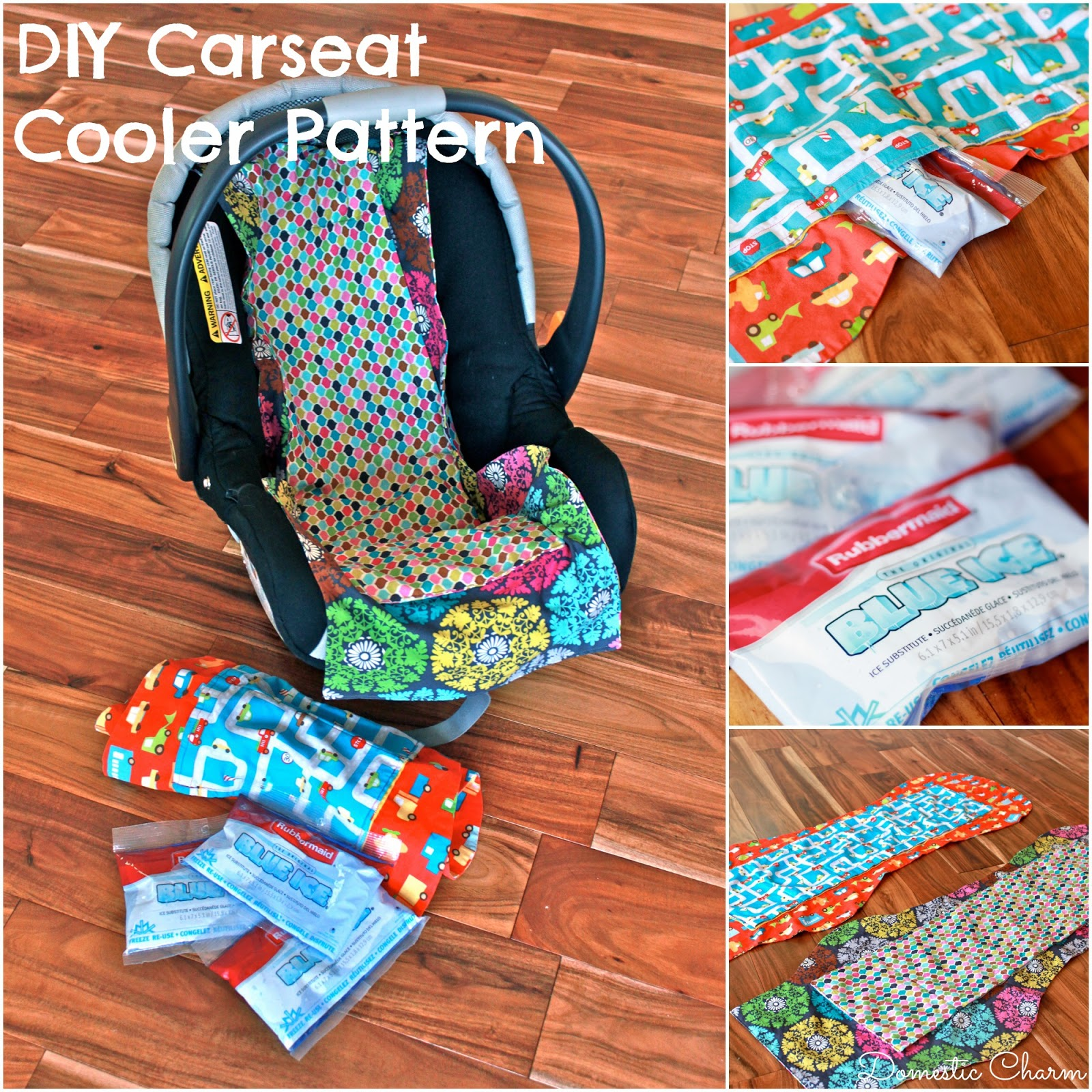 Domestic Charm Diy Car Seat Cooler With Free Pattern