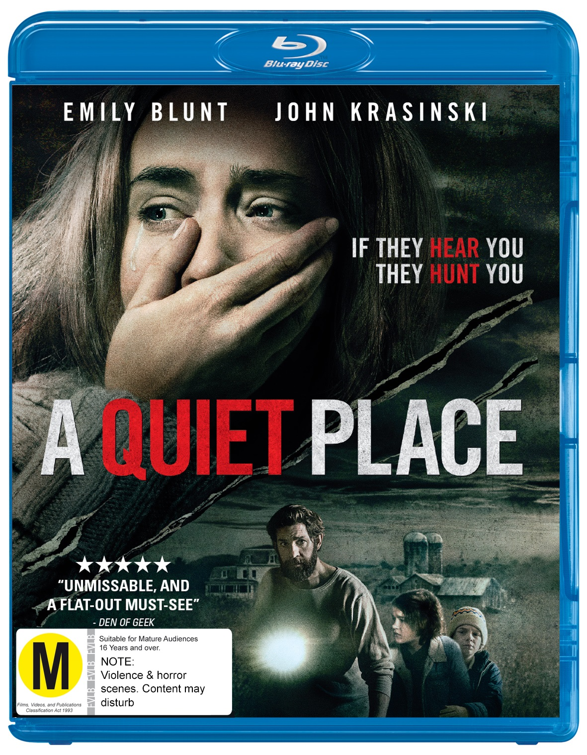 At Darren's World of Entertainment: Win A Quiet Place on Blu-Ray