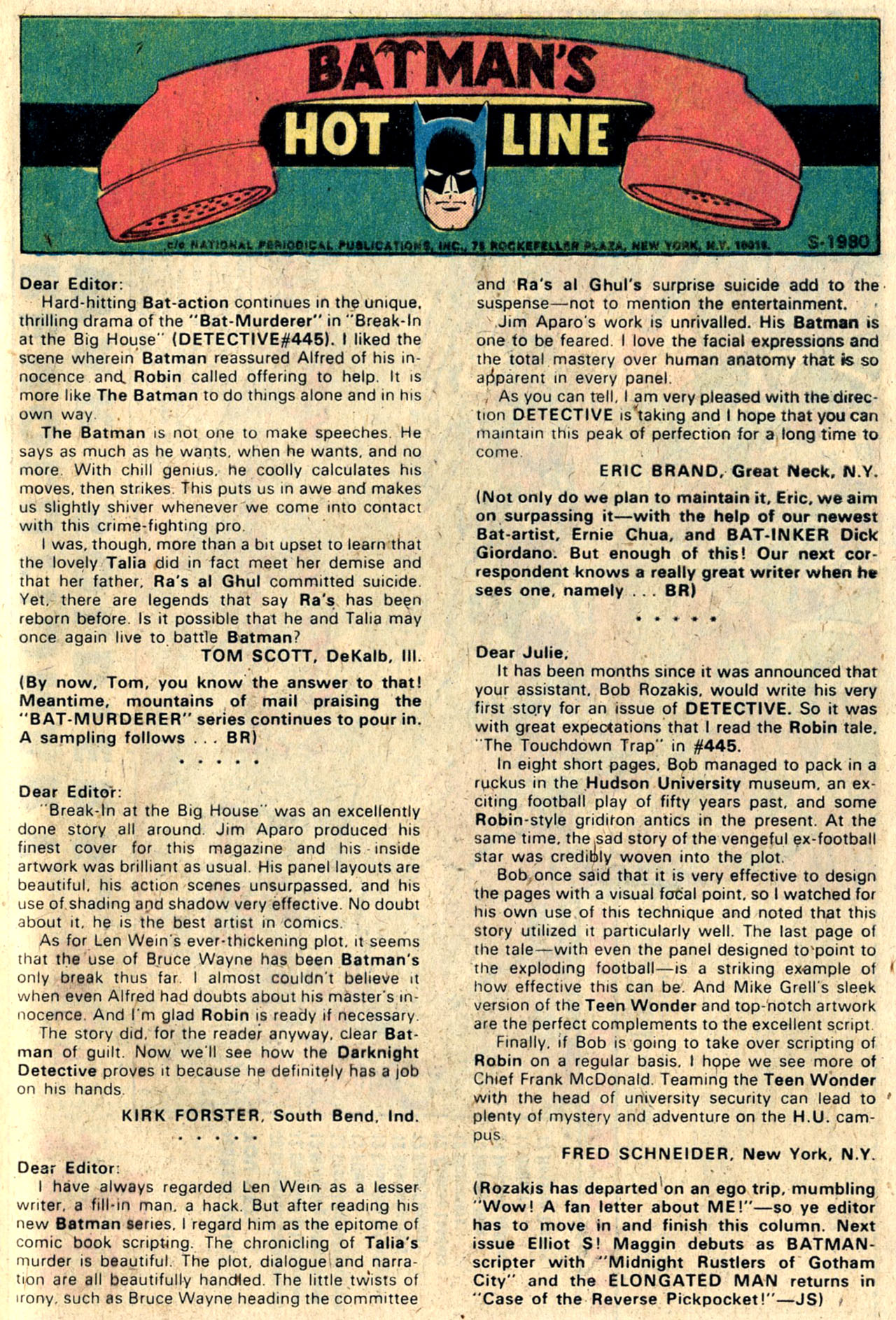 Detective Comics (1937) 448 Page 31
