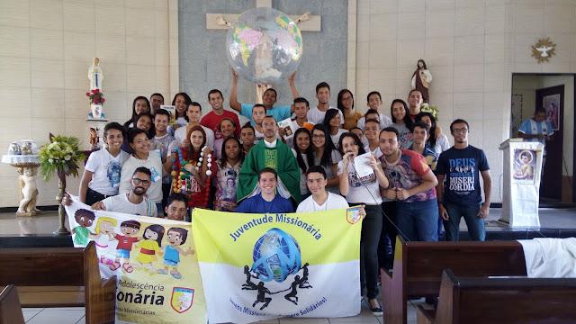 JM de Maceió inicia trabalho da Jornada do Jovem Missionário 2016
