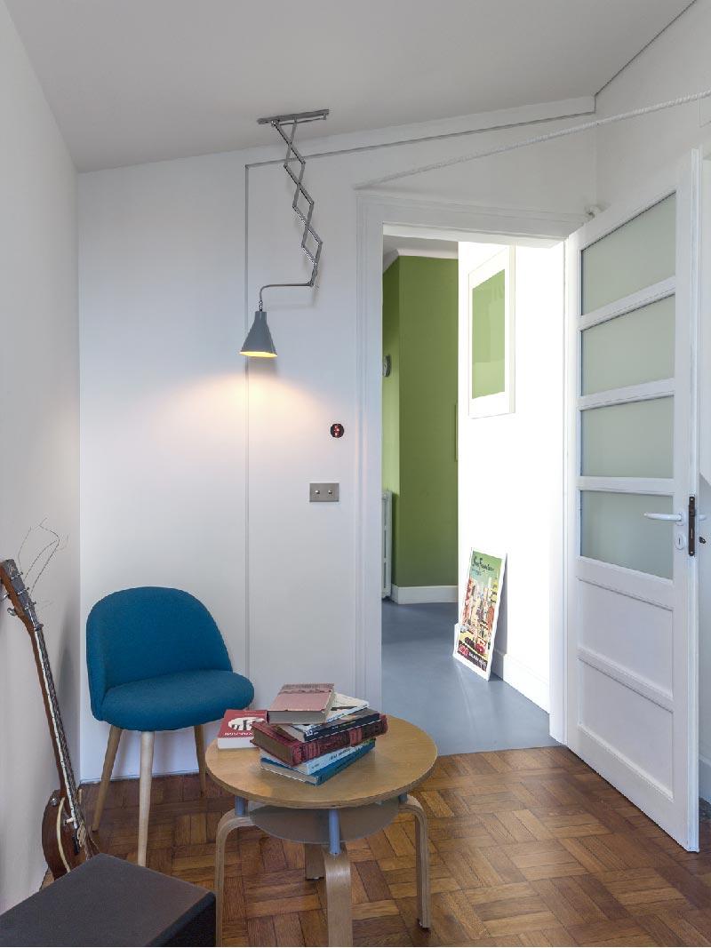 appartamento anni '30 rivisitato in chiave moderna e funzionale