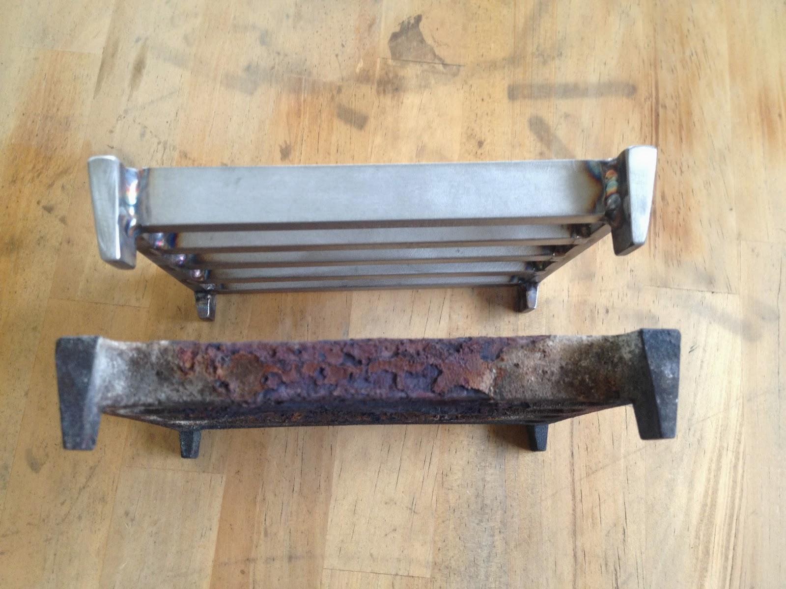 あおもりの鉄おやじ ロートアイアン: 薪ストーブ部品修理
