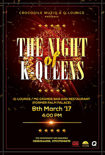 [EVENT] KNOW MORE ABOUT 'THE NIGHT OF K-QUEENS (DATE 8TH MAR. 2017)