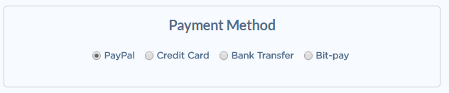 Temok Payment methods