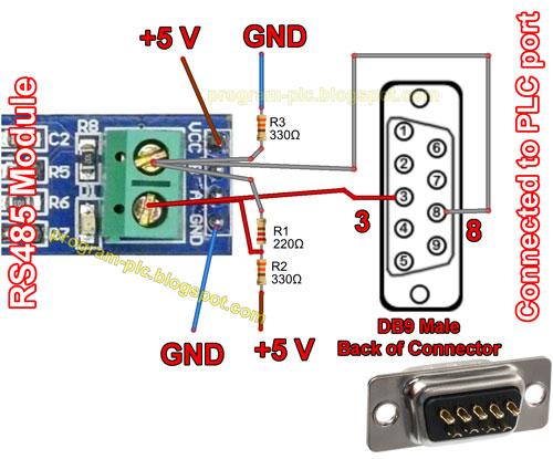 PLC Modbus Master - Arduino Modbus Slave - 2 Wire RS485