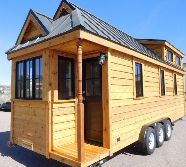 Tumbleweed Cypress tiny house