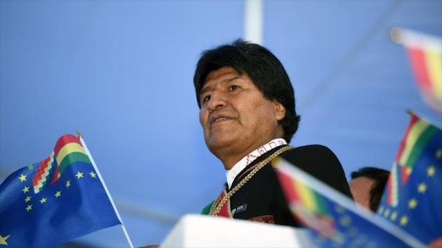 """Morales: Chile incurre en contradicciones y elude su """"invasión"""""""