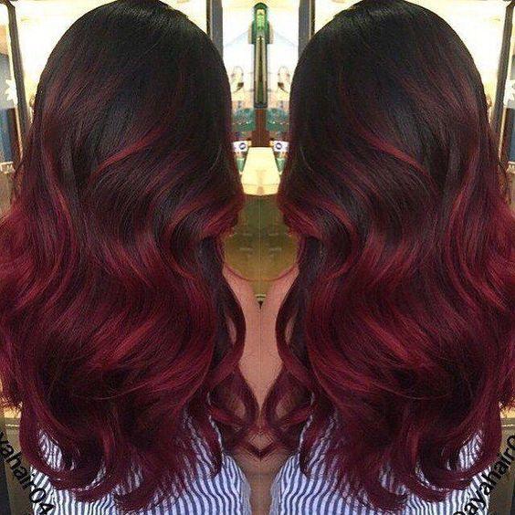 Burgundy Hair Auburn