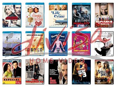 Lanzamientos de febrero en DVD y Blu-ray de Divisa Home Video