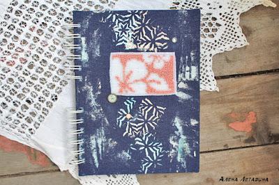Мастер-класс: блокнот с вышивкой бисером