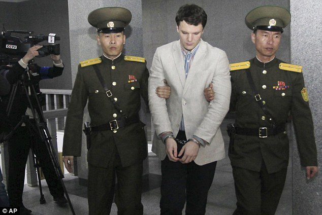 American student Otto Warmbier jailed 15 years in North Korea