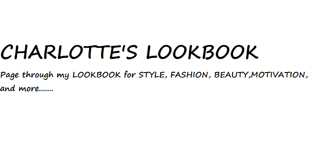 Charlotte's lookbook