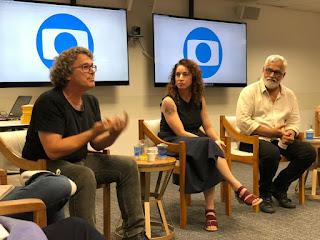 Direção e autores apresentam nova novela das 7, Bom Sucesso — Foto: Gshow / Leticia Souza