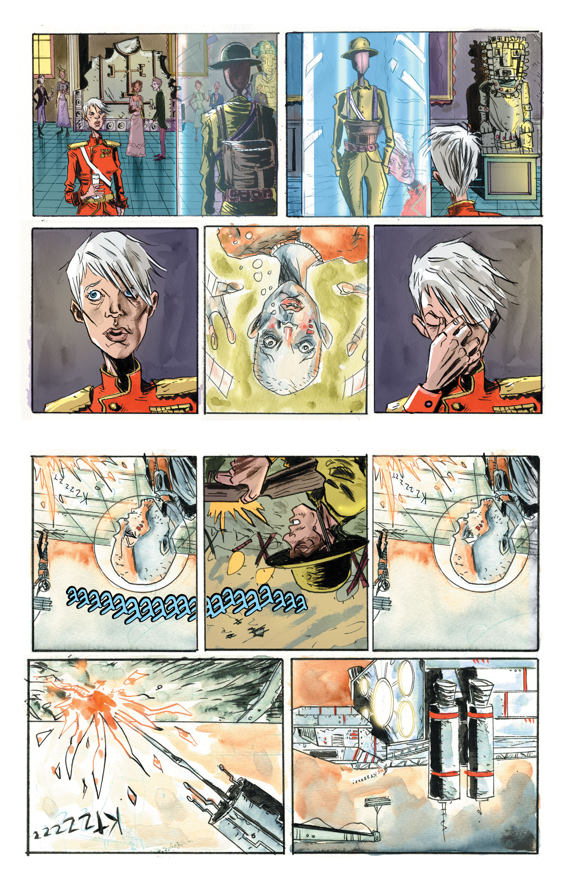 Read online Trillium comic -  Issue # TPB - 107