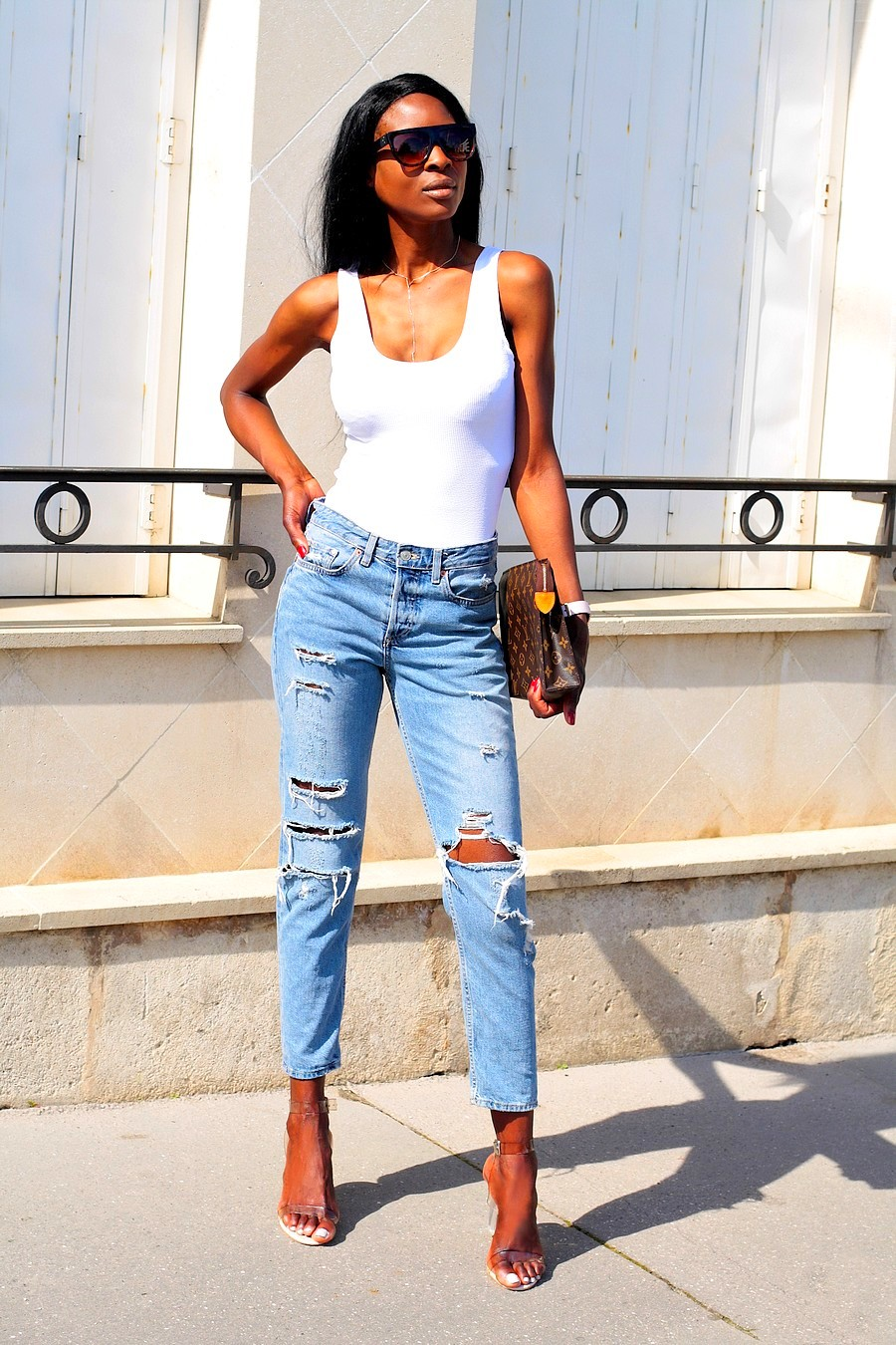 jeans-mom-taille-haute-tendance-blogs-2018