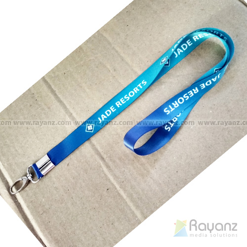 20mm Lanyard with multi color printing sample printing