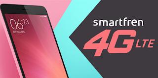 Smartfren 4G LTE Pada Xiaomi Redmi Note 2