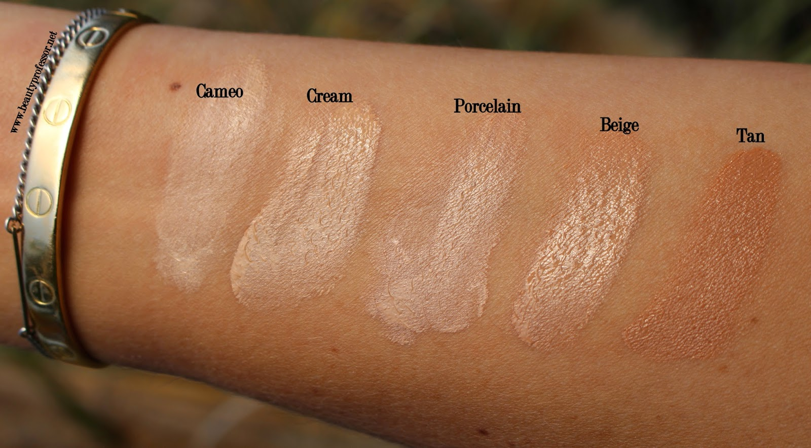 zelens youth glow foundation swatches