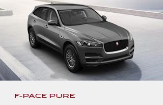 jaguar f-pace allestimento pure prezzi