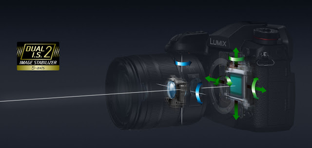 How the Dual Image Stabilisation system works in the Panasonic Lumix G9