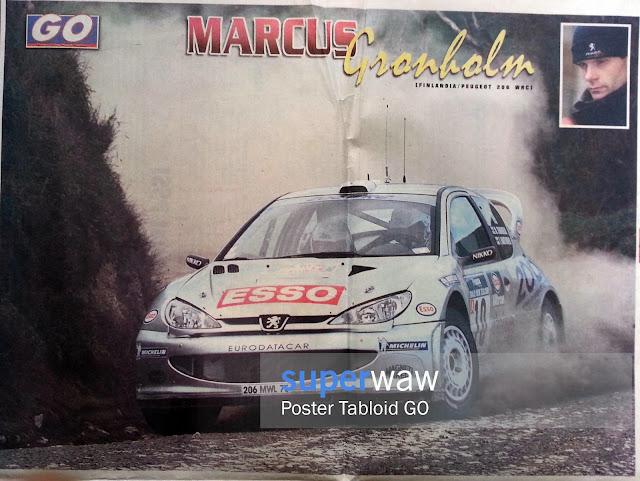 MARCUS GRONHOLM PEUGEOT 206 WRC