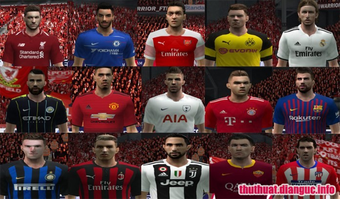 Patch PES 6 update 2018 2019,