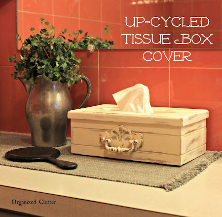 Upcycled Tissue Box Cover