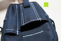 Tasche: Taktische Hüfttaschen , Sahara Sailor EDC Molle Tasche Nylon Gürteltasche für Wandern, Outdoor-Camping und Radfahren mit Aluminiumkarabiner