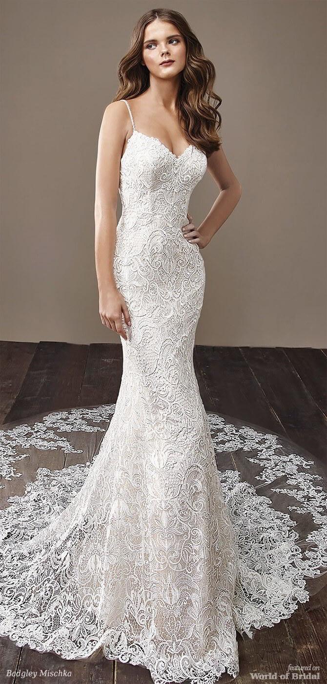Badgley Mischka 2018 bridal gown